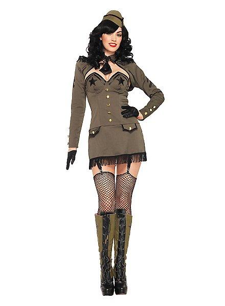 Sexy Ms. Major  Costume