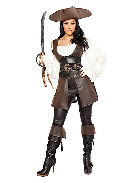 Sexy Ocean Adventuress Pirate Costume