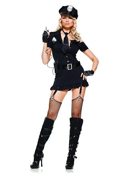 Sexy Ordnungshüterin Kostüm