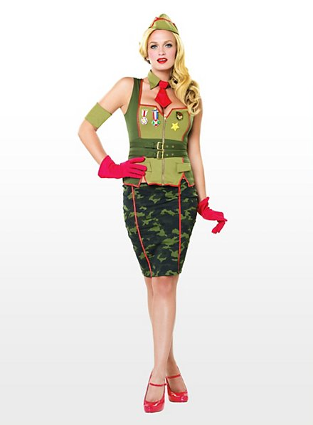 Sexy Pin Up General Costume