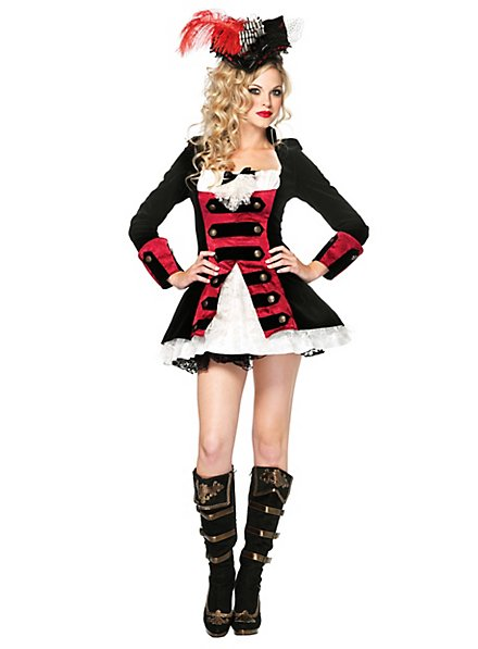 Sexy Piraten Fräulein Kostüm