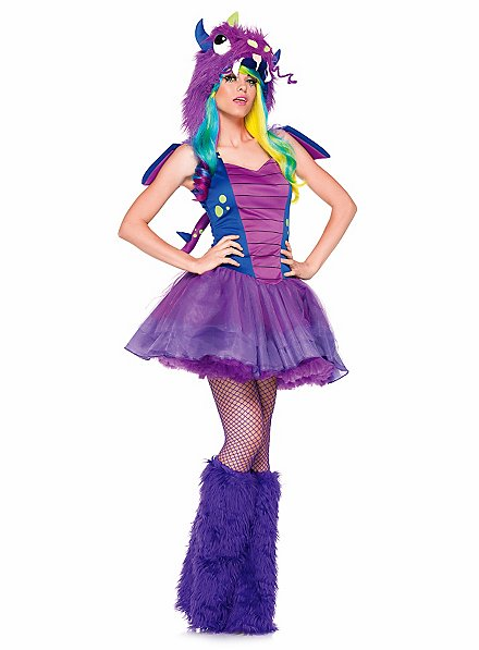 Sexy Purple Dragon Costume