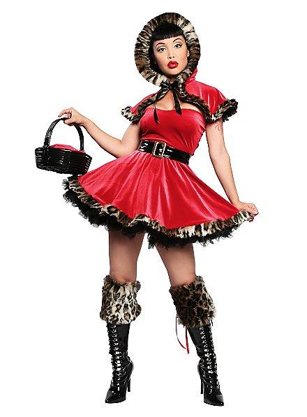 Sexy Rotkäppchen Deluxe Kostüm