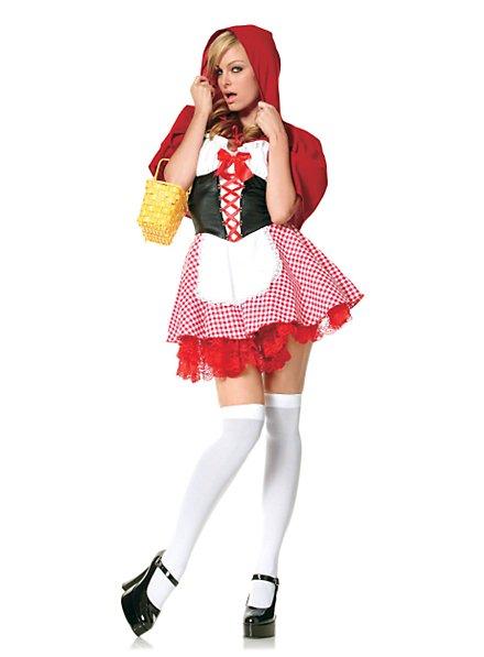 Sexy Rotkäppchen klassisch Kostüm