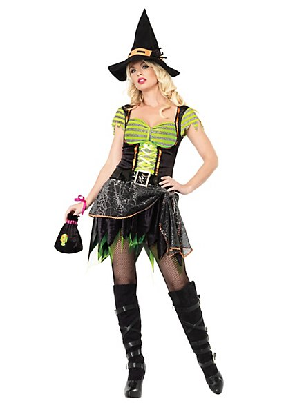 Sexy Spider Witch Costume