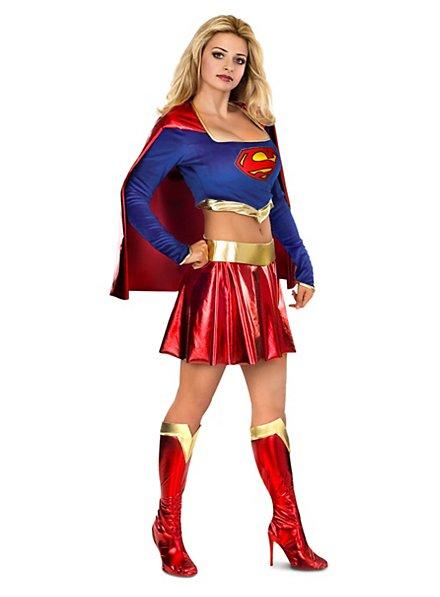Sexy Superhero Supergirl Kostüm