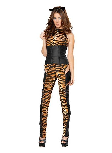 Sexy Tiger Lady Kostüm