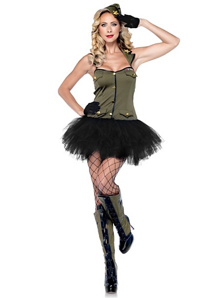 Sexy Troop Entertainer Costume