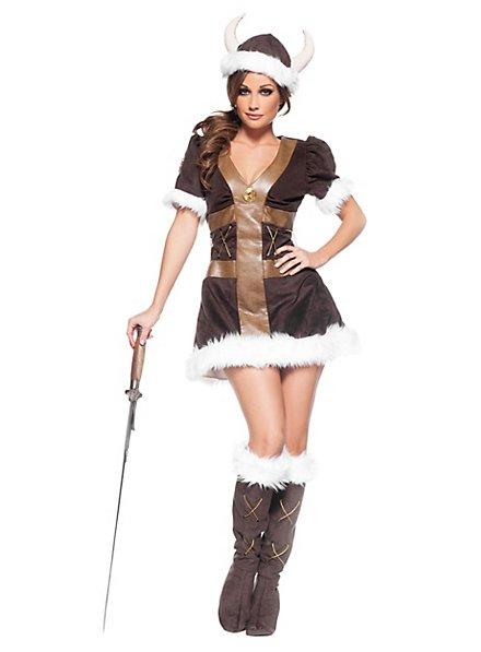 Sexy Viking princess costume