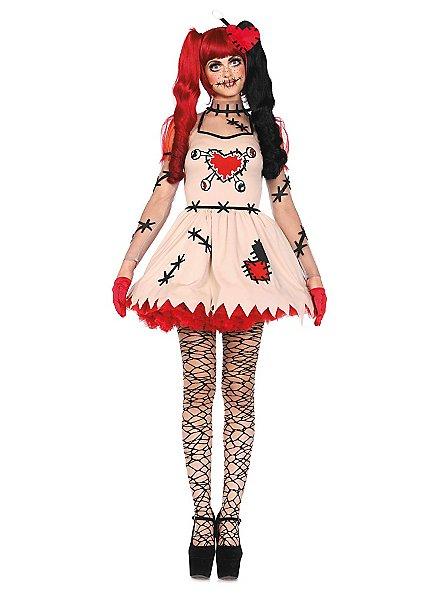 Sexy Voodoo Puppe Kostüm