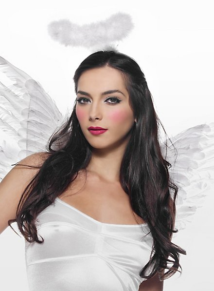 Sexy Weisser Engel Accessoire Set