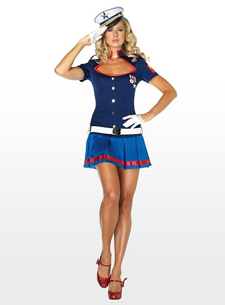 Sexy Yacht Captain Costume