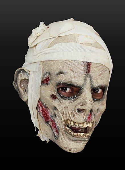 Shrouded Mummy Kids Mask Made of Latex