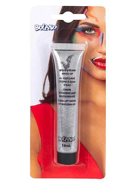 Silberne Make-up Creme Make-up