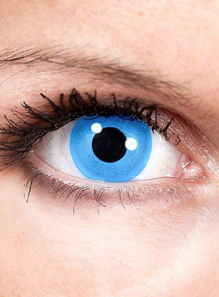 Sirène bleu Lentilles de contact
