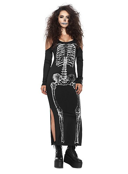 Skeleton dress costume