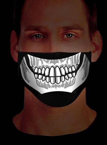 Skeleton Mouth Mask