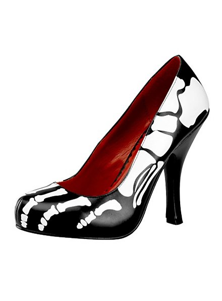 Skeleton Pumps black