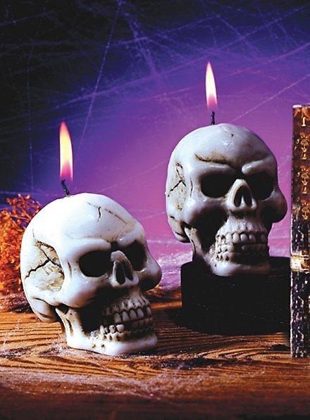 Skelett Kerze