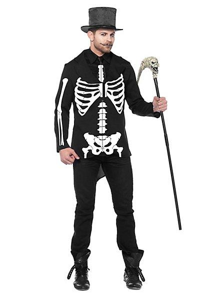 Skelett Kostüm