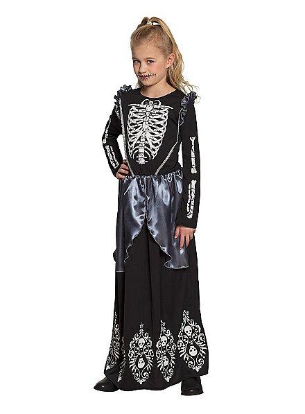 Skelettkleid für Mädchen