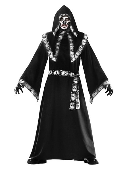Skelettmagier Kostüm