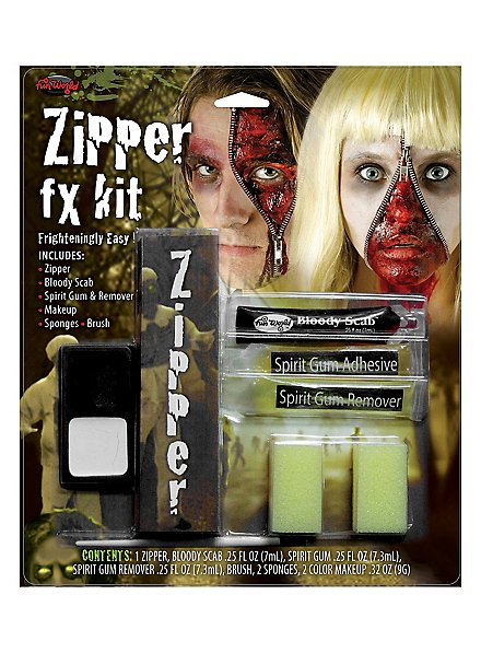 Skin Zipper Special effects