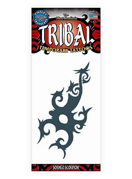 Skorpion Tribal Klebe-Tattoo