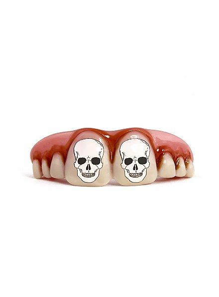 Skulls Lighted Fake Teeth