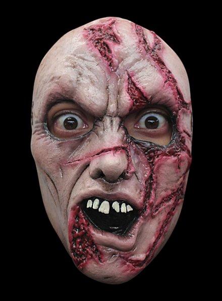 Slashed Zombie Horror Mask