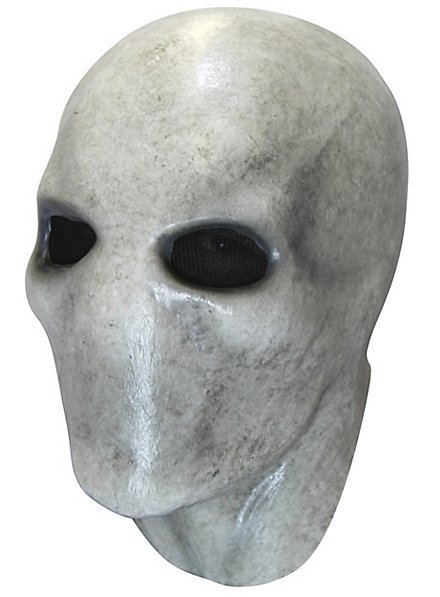 Slenderman grau Vollmaske