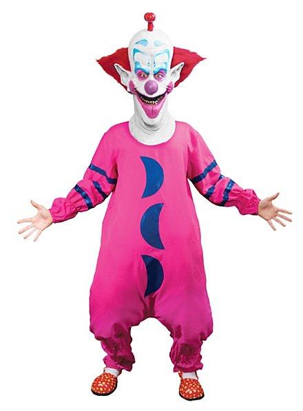 Slim Killerclown Kostüm mit Maske