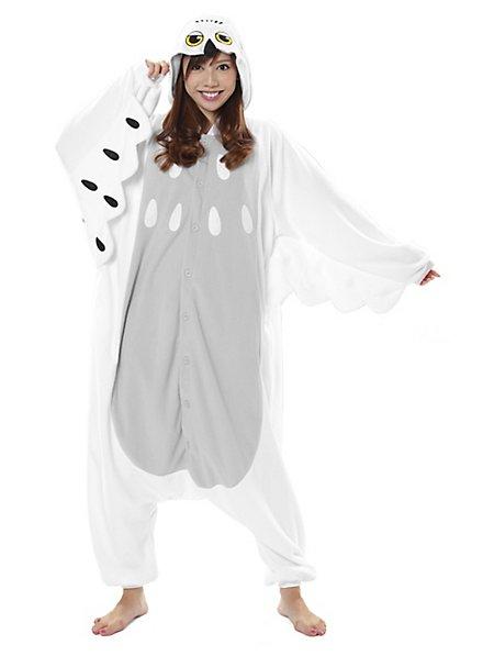 Snow Owl Kigurumi Costume