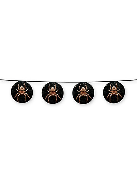 Spinnen-Girlande