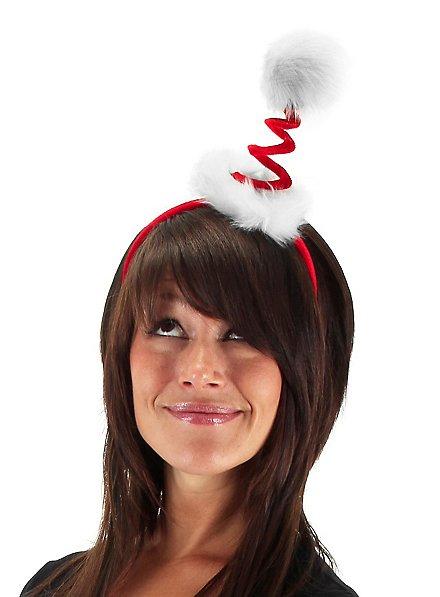 Spiral Santa Headdress