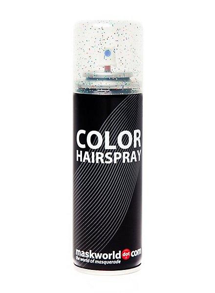 Spray pour les cheveux à paillettes multicolore