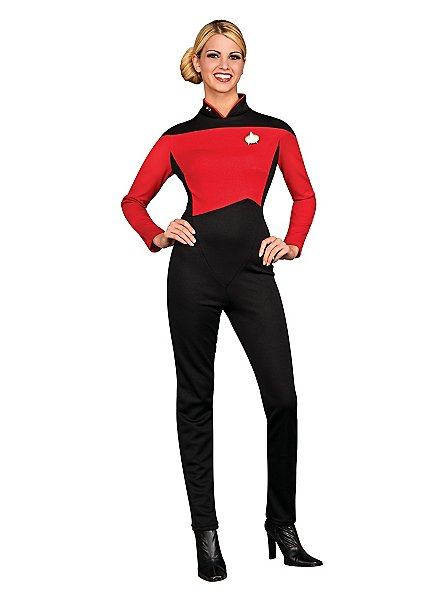 Star Trek Next Generation Anzug rot