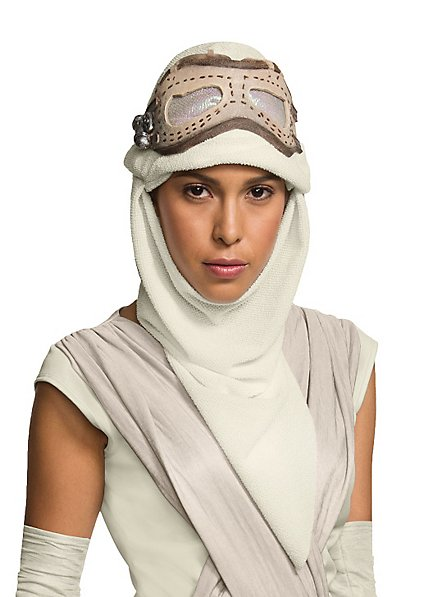 Star Wars 7 Rey Mask & Hood