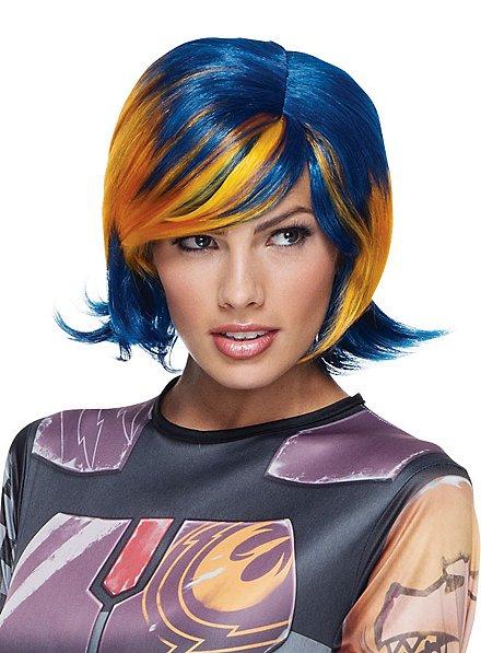 Star Wars Rebels Sabine Wren wig