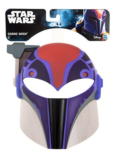 Star Wars Sabine Wren Maske für Kinder