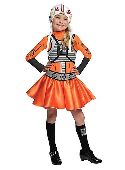 Star Wars X-Wing Pilotin Kinderkostüm