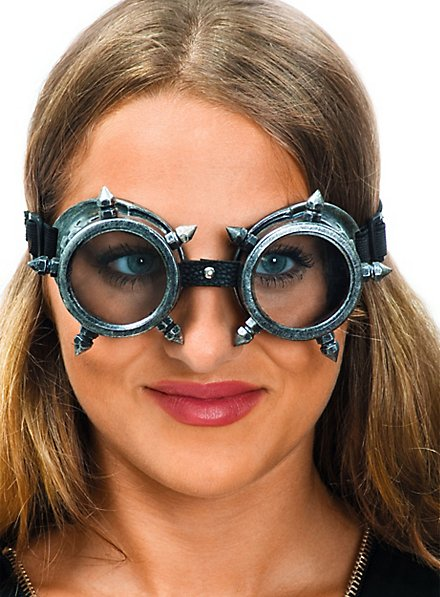 Steampunk Glasses silver