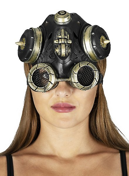 Steampunk Grenadier Latex Headgear