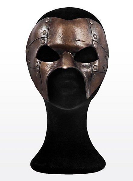 Steampunk Phantom Bronze Ledermaske