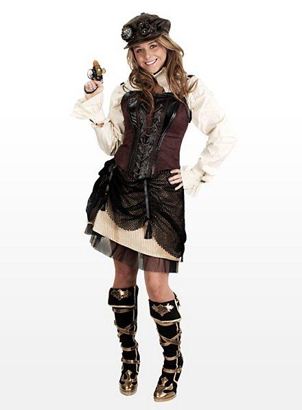 Steampunk Western Skirt