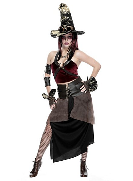 Steampunk Witch Costume