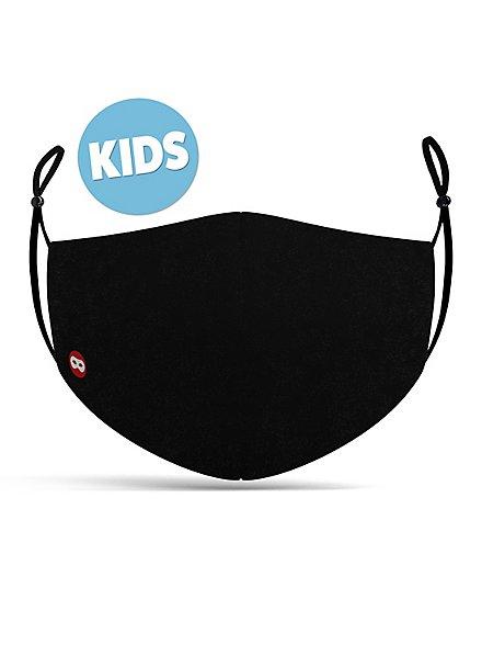 Stoffmaske für Kinder schwarz