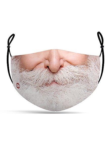 Stoffmaske Weihnachtsmann