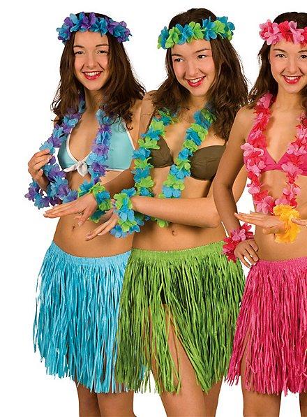 Strandkostüm Hawaii blau