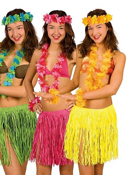 Strandkostüm Hawaii pink